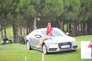 Audi India Final Cup July 2015 Sharmila Nicollet