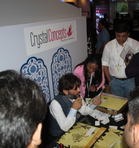 CRYSTAL CONCEPTS participated in International Conference of wedding Fraternity in Delhi on July