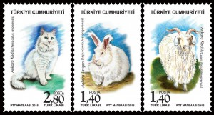 The Animals Turkish Stamps - Crystal Concepts